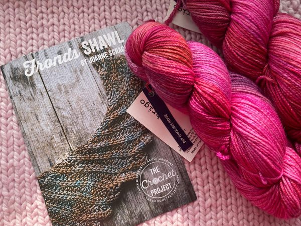 Number Four Crochet Project and Malabrigo Shawl Kit