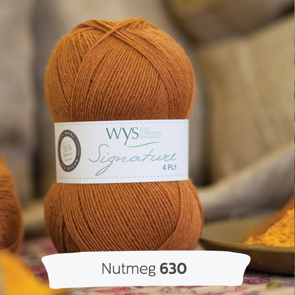 Number Four West Yorkshire Spinners Signature 4ply