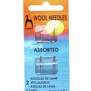 Number Four Pony Wool Needles