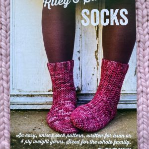 Number Four Riley & Saunders Socks Crochet Pattern