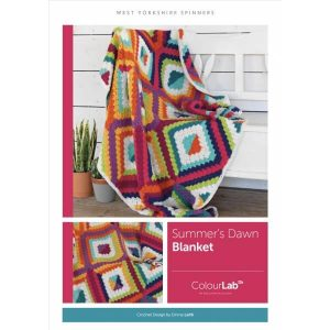 Number Four West Yorkshire Spinners Summers Dawn Blanket
