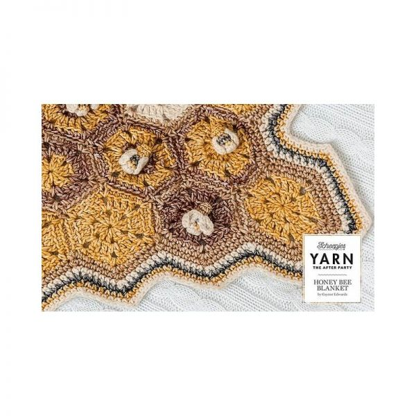 Number Four Scheepjes Honey Bee Blanket Crochet Kit