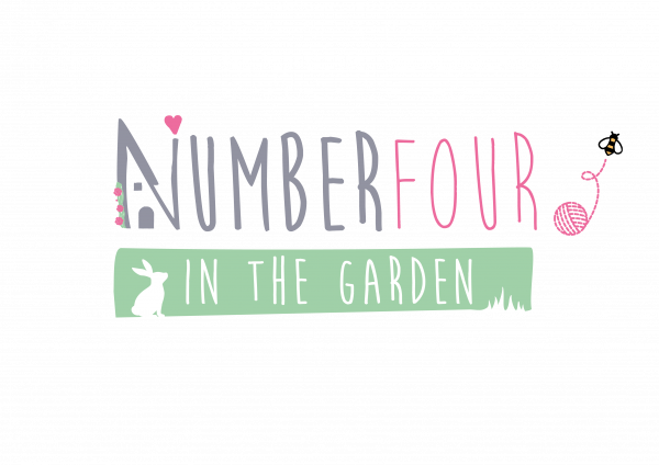 number four in the garden logo